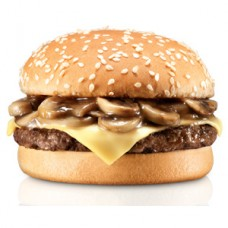 Cheese & Mushroom Burger
