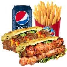 Shish or Chicken Kebab Meal