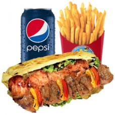 Shish Mixed Kebab Meal